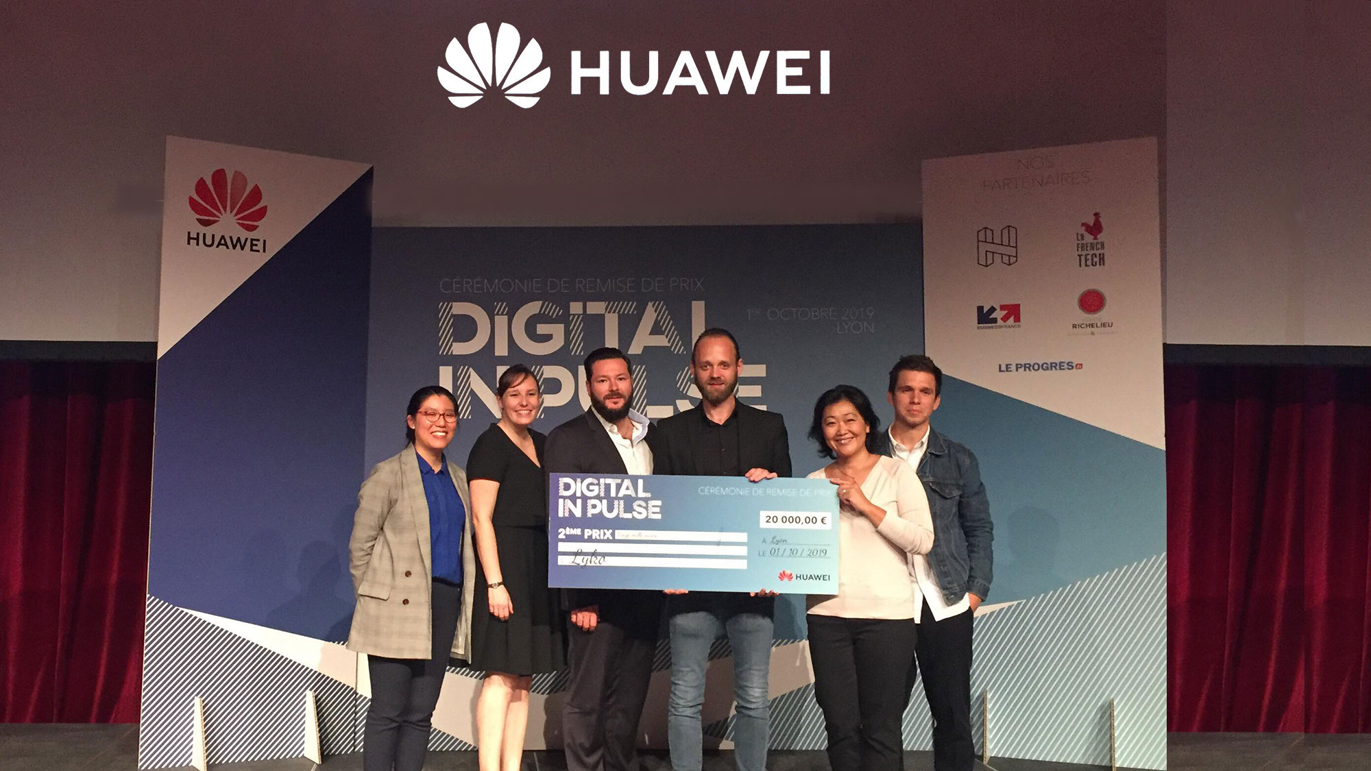 Lyko, lauréat du Digital InPulse 2019 by Huawei