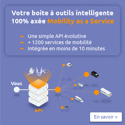 Lyko, your smart toolbox 100% focused Mobility as a Service
