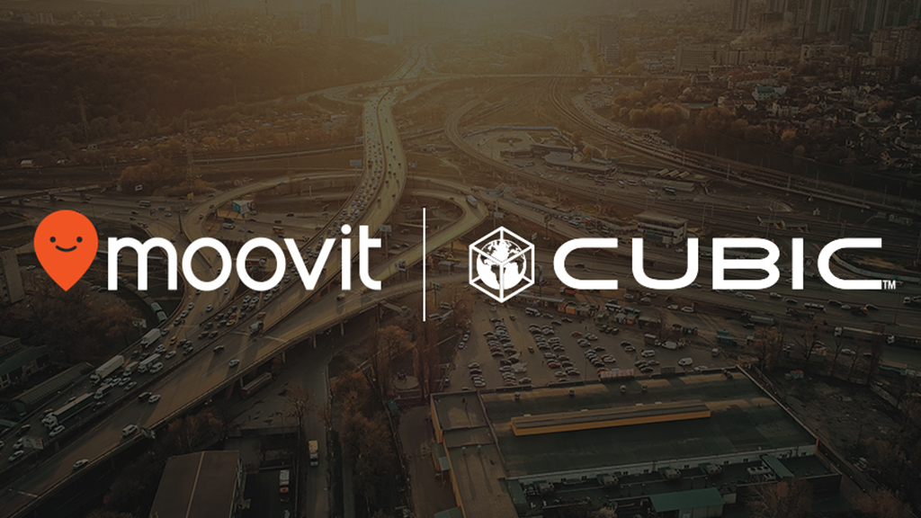 Cubic-Moovit-partnership