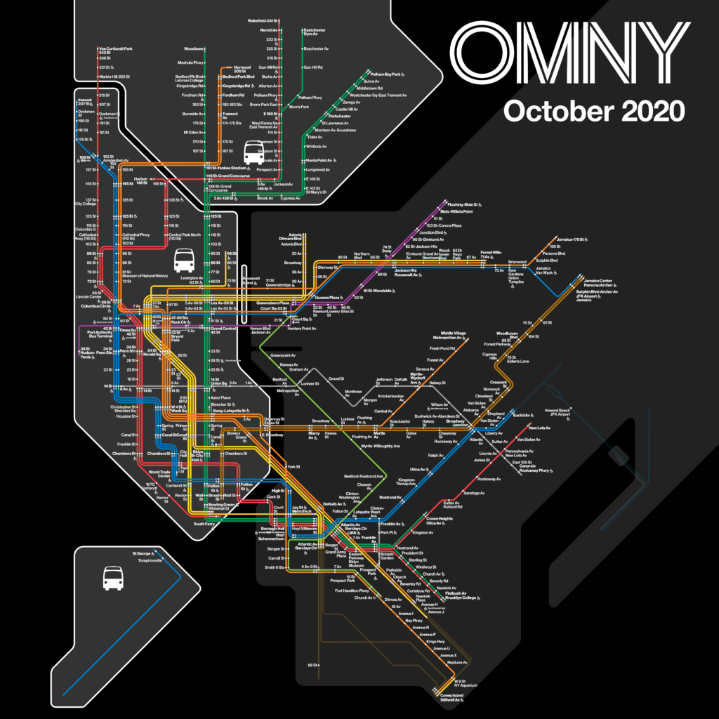 OMNY october 2020 map